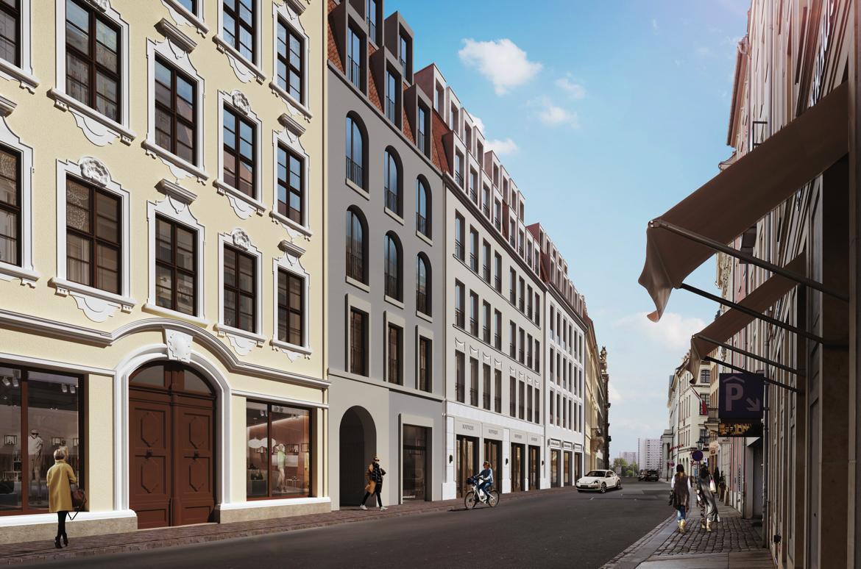 REALLEASE vermietet Ladenflächen am Neumarkt in Dresden