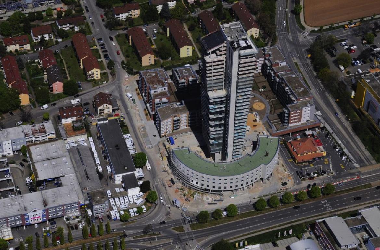 REALLEASE_Hochhaus_Luftbild_Vermietung_Hotel_Wohnen_Stuttgart